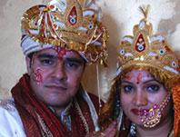Bhupesh with Shobha
