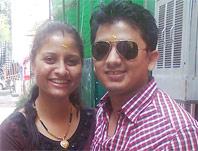 Kanchan and Vikram Negi