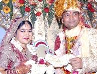 Kuldeep with Rashmi