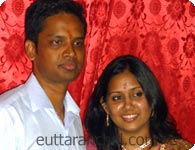 Narendra with Aruna