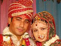 Rajendra with Bhavana