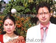 Ravindra and Reeta