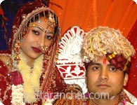 Santosh and Rashmi