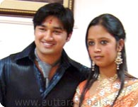 Shushant with Bhawana