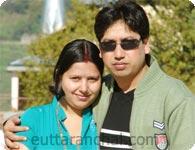 Ved Prakash Panthri and Seema